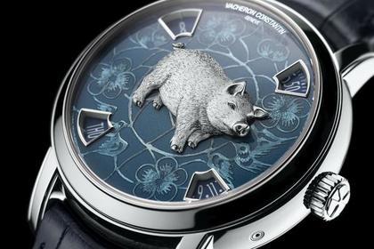 Vacheron Constantin поместил на часы свиней