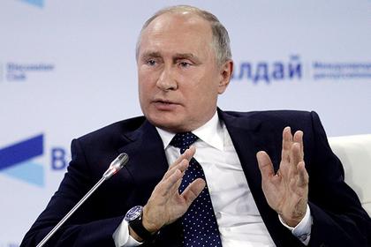 Путин предостерег Россию от пещерного национализма
