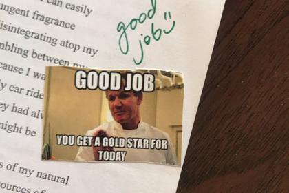 Учительница придумала оригинальные оценки и прославилась