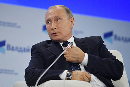 Путин отреагировал на слова о своем вкладе в историю