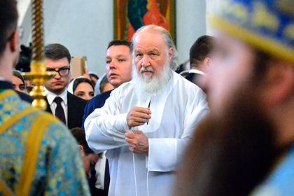 Патриарх Кирилл обвинил Константинополь в расколе