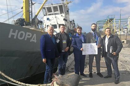Украина изъяла российское судно «Норд»