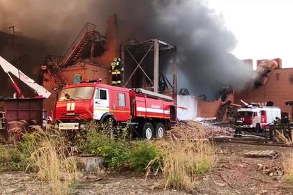 Пожар на металлургическом заводе во Владикавказе локализовали