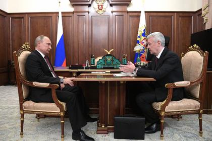 Путин рассказал Собянину о принадлежности Севастополя