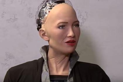 Обещавший уничтожить людей робот заговорил по-русски на украинском шоу