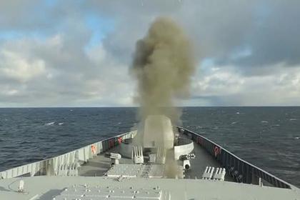 Пуски ракет «Адмиралом Горшковым» попали на видео