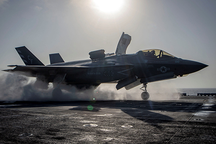 F-35B повоюют без оружия