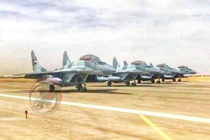 Новый МиГ-29М разбился в Египте