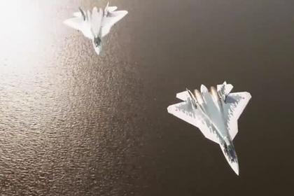 Проход Су-57 на сверхмалой высоте попал на видео