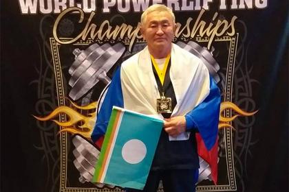 Пенсионер из Якутии стал чемпионом мира по пауэрлифтингу