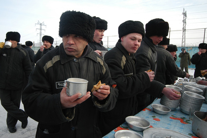 Стоимость питания заключенных оказалась меньше ста рублей в сутки