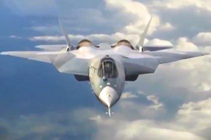 Испытания Су-57 на малозаметность показали на видео