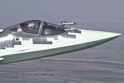 Воздушную «дозаправку» Су-57 показали на видео
