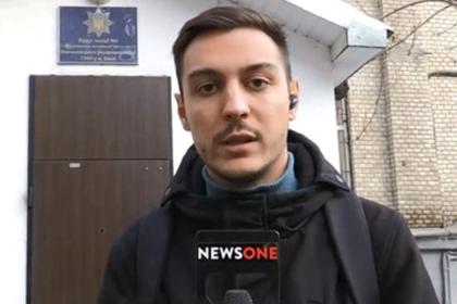 Украинские радикалы в прямом эфире напали на оппозиционного журналиста