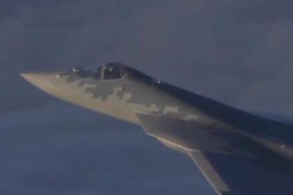 Применение Су-57 в Сирии показали на видео