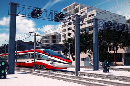 Россия впервые показала поезд будущего