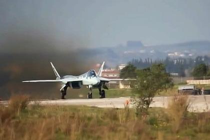 Летчик рассказал о Су-57 в Сирии