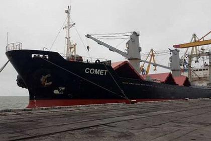 Арестованное в ответ на российские санкции судно покинуло Украину