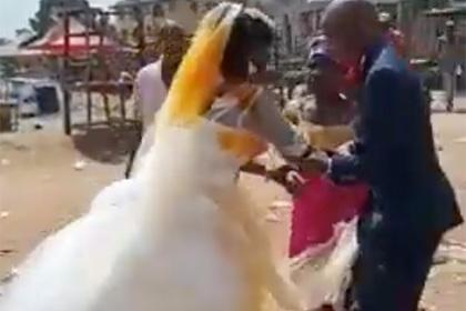 Жена сорвала свадьбу и помешала мужу стать двоеженцем