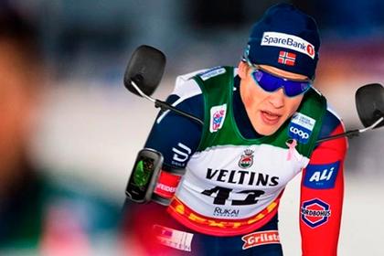 Слишком рано отметивший победу норвежский лыжник пошутил над поражением