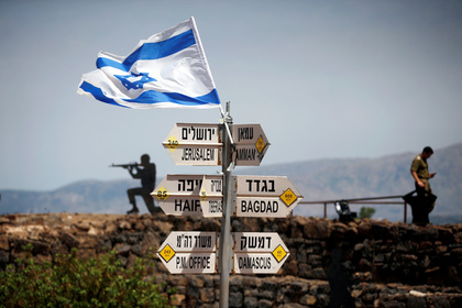 Израиль опроверг сообщения о сбитом Сирией самолете