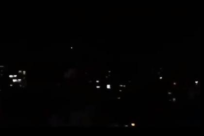 Авиаудар Израиля по Сирии попал на видео