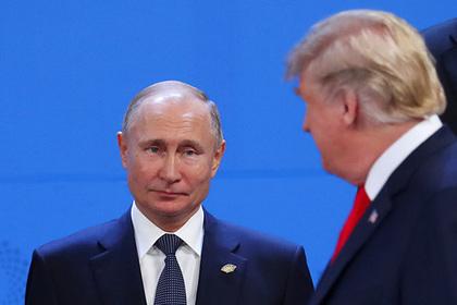 Трамп проигнорировал Путина