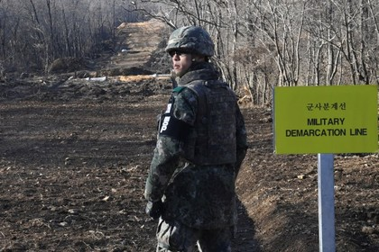 Северокорейский солдат сбежал на Юг