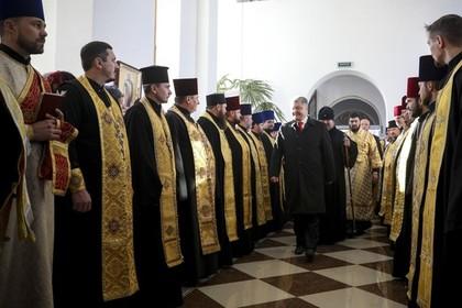 Порошенко наградил самых убежденных митрополитов-«раскольников»