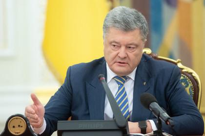 Порошенко обвинил Россию в намерении захватить украинские портовые города
