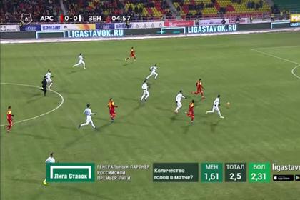 Вратарь сборной России вкатился с мячом в ворота