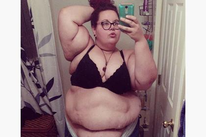 190-килограммовая американка рассказала о страсти к худощавым любовникам