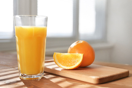 Названы лучшие марки апельсинового сока