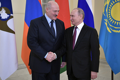 Путин и Лукашенко поспорили о ценах на газ