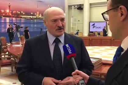 Лукашенко извинился перед Путиным за публичный спор