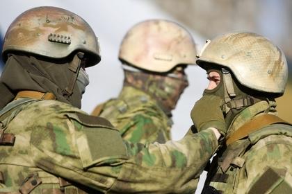 Служба внешней разведки впервые показала тренировку спецназа