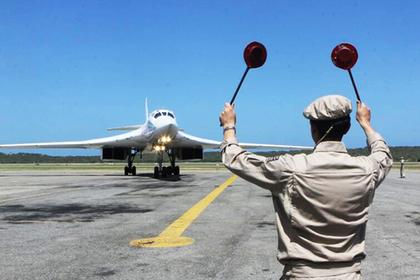 Российские стратегические бомбардировщики прибыли в Венесуэлу