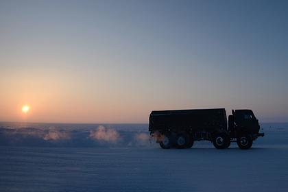 В Арктике захотели создать платные дороги для грузовиков