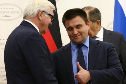 Климкин захотел ответить России креативными санкциями