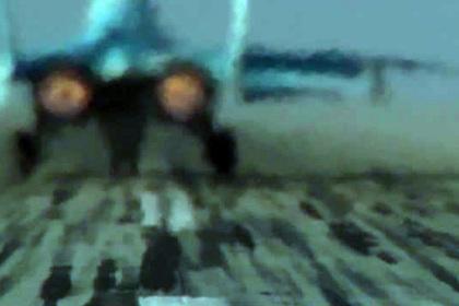 МиГ-35 вертикально взлетел на форсаже