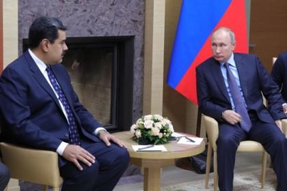 Мадуро оценил пользу встречи с Путиным