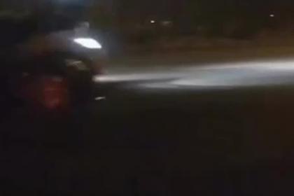 15-летняя мажорка сбила гаишника и попала на видео