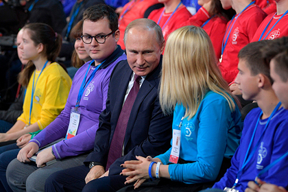 Путин раскрыл школьникам первый шаг к успеху