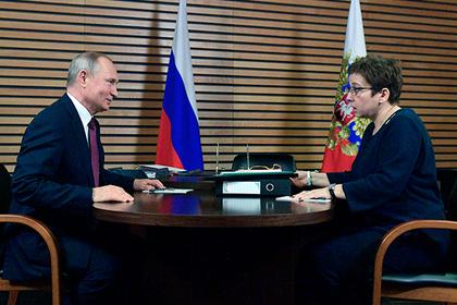Путин обсудил проблемы паллиативной медицины