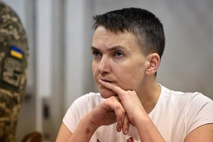 Голодающая Савченко пожаловалась на частичную потерю слуха и зрения