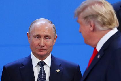 США сочли невозможной встречу Путина и Трампа