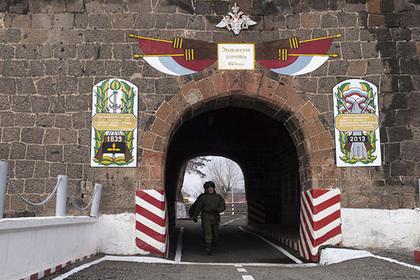В Армении арестовали российского военнослужащего
