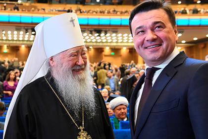 Воробьев отметил работу по восстановлению святынь в регионе