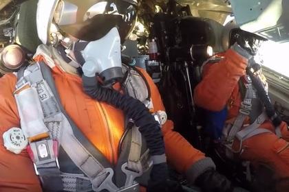 Полет российских бомбардировщиков над Карибским морем сняли на видео