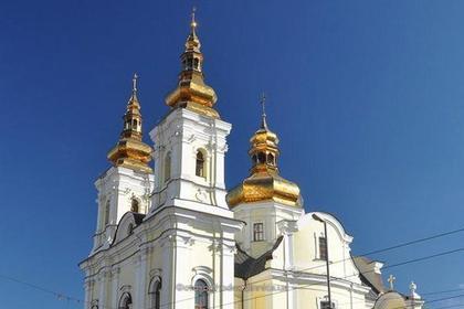 Неизвестные захватили собор канонической УПЦ